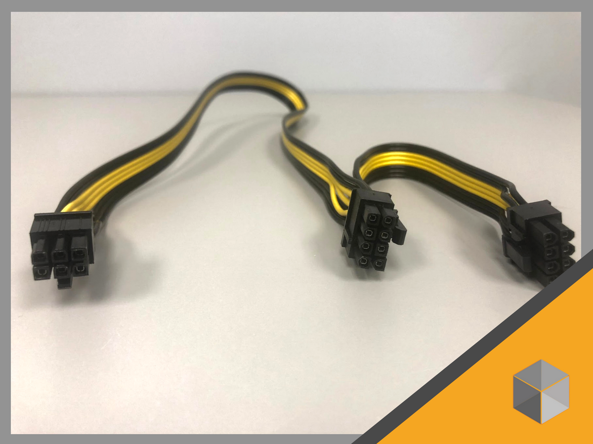 PCIe Power Cable Double