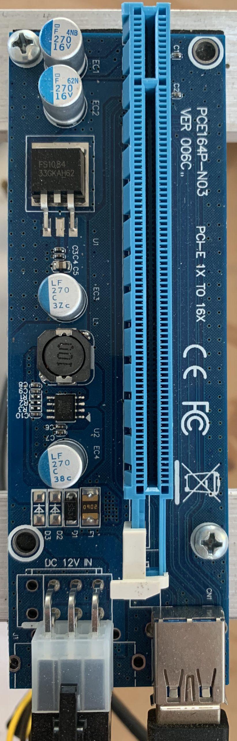 DC-DC Riser Card
